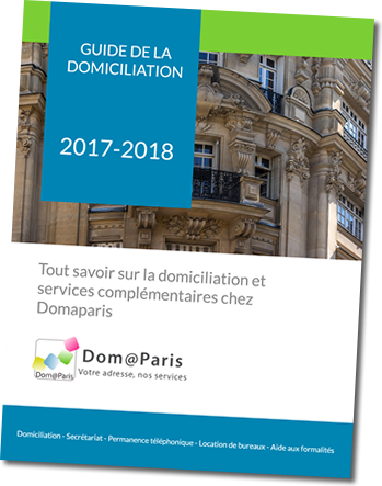 Guide de la domiciliation Domaparis 17ème