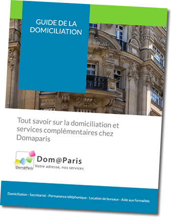 guide de la domiciliation 2018 Domaparis